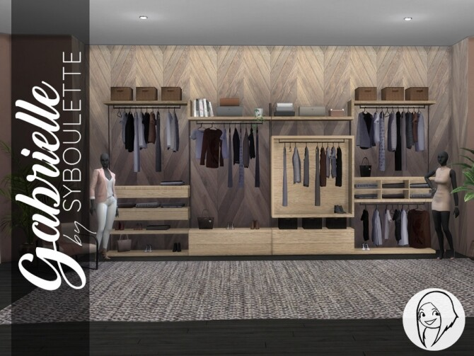 Gabrielle Dressing Closet by Syboubou at TSR image 2137 670x503 Sims 4 Updates