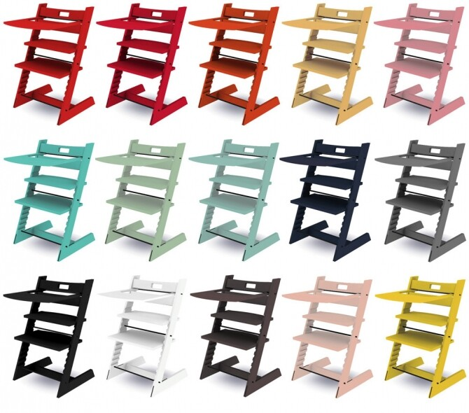 Sims 4 Recolors of Mxims' Tripp Trapp Highchair and Random poster at Riekus13