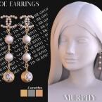Zoe Earrings by Silence Bradford