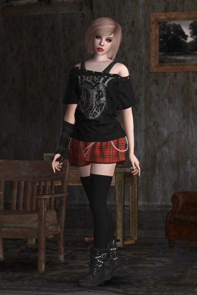January Van Sant Outfits at Astya96 image 2167 667x1000 Sims 4 Updates