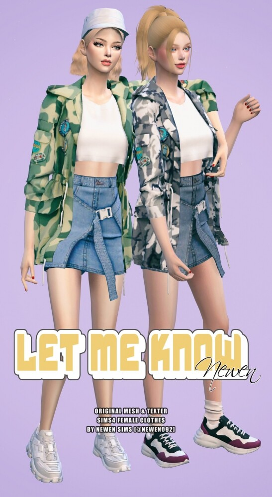 Let Me Know collection at NEWEN image 2175 547x1000 Sims 4 Updates