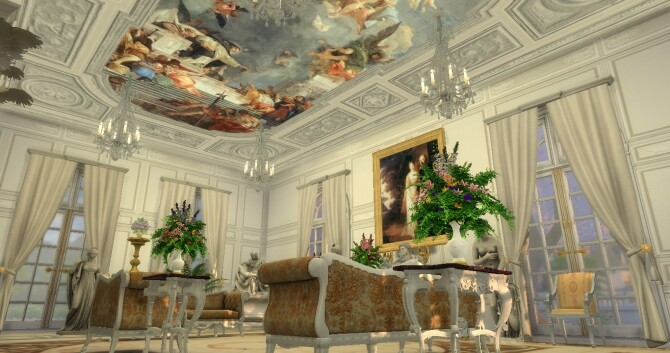 Historical Living Set For TS4 at Regal Sims image 2185 670x353 Sims 4 Updates