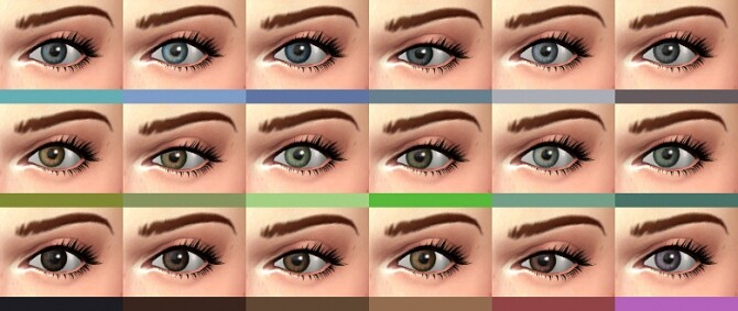 Œil de biche Eyes Replacement at Simsontherope image 2191 670x283 Sims 4 Updates