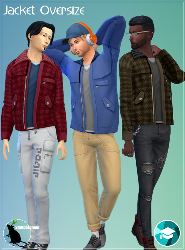 EP08 Jacket Oversize at Standardheld image 2194 Sims 4 Updates