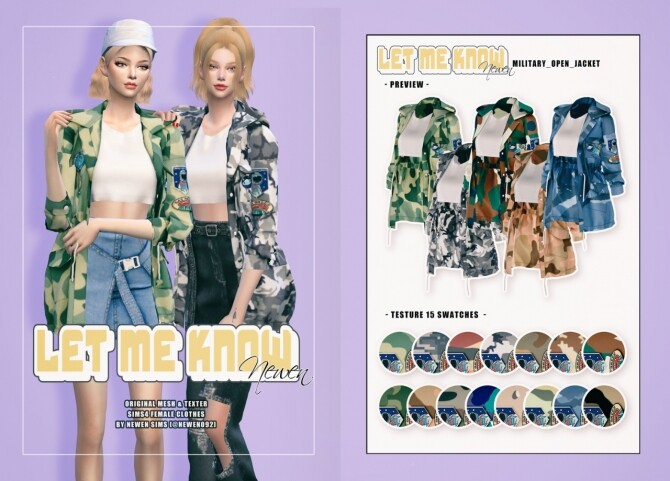 Let Me Know collection at NEWEN image 2195 670x481 Sims 4 Updates