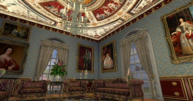 Historical Living Set For TS4 at Regal Sims image 2196 670x353 Sims 4 Updates