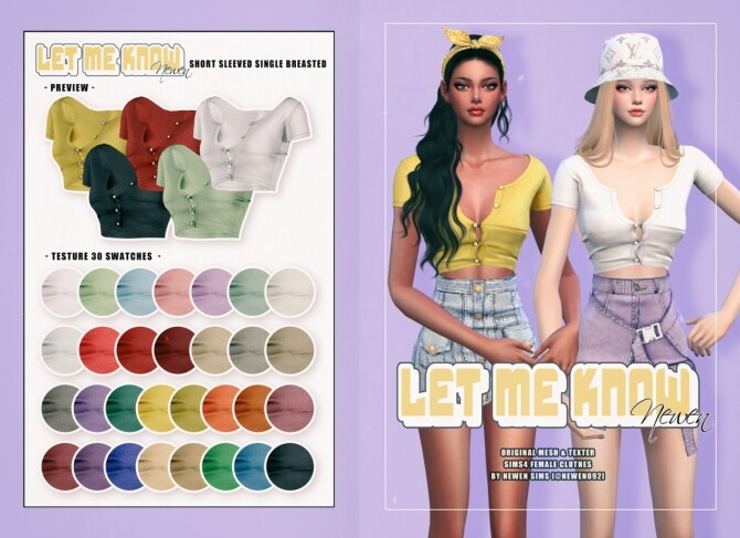 Let Me Know collection at NEWEN image 2204 670x487 Sims 4 Updates