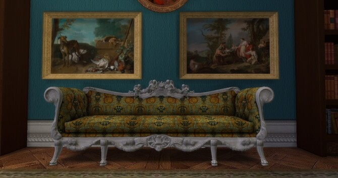 Historical Living Set For TS4 at Regal Sims image 22111 670x353 Sims 4 Updates