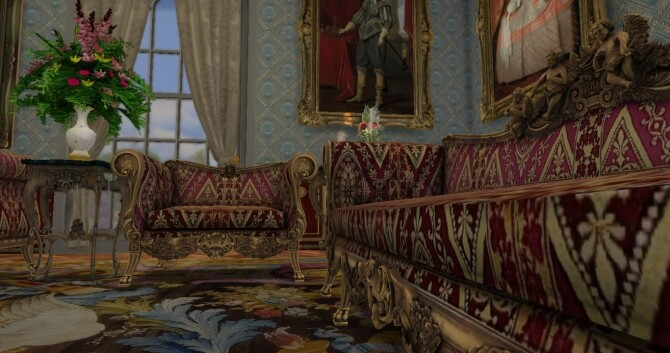 Historical Living Set For TS4 at Regal Sims image 22210 670x353 Sims 4 Updates