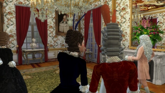 Historical Living Set For TS4 at Regal Sims image 2237 670x377 Sims 4 Updates