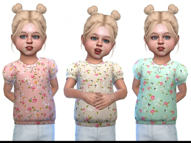 Top for Toddler Girls 01 by Little Things at TSR image 2239 670x503 Sims 4 Updates