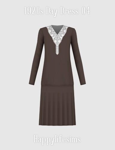 1920s Day Dress 04