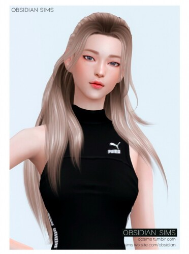 SNAPDRAGON HAIR by Obsidian Sims
