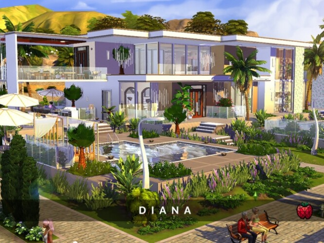 Diana mansion by melapples