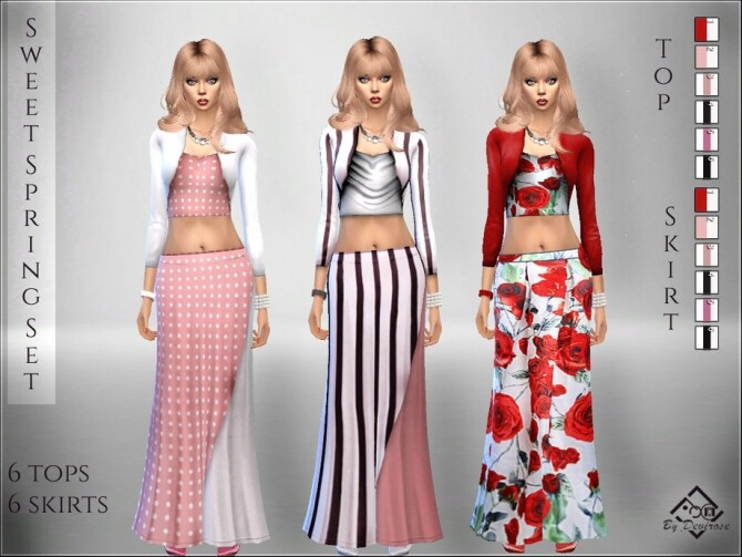 Sweet Spring Set by Devirose at TSR image 2315 670x503 Sims 4 Updates