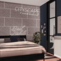 Cityscape Walls by Networksims