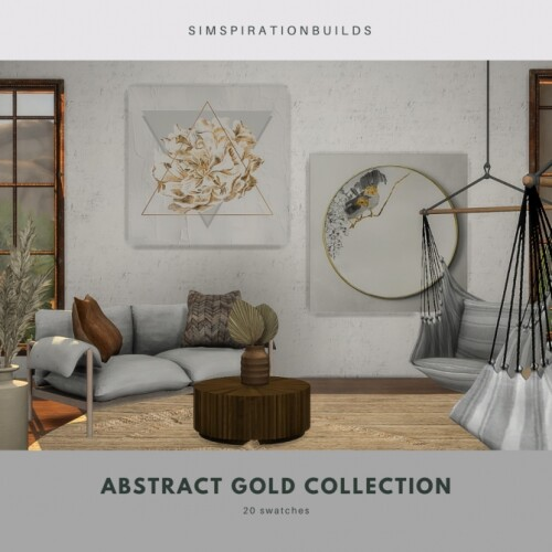 Abstract Gold Collection