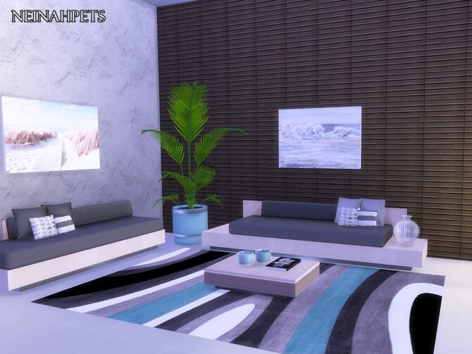 Anquine Panel Wall by neinahpets at TSR image 2324 670x503 Sims 4 Updates