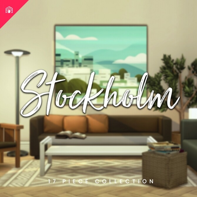 Sims 4 Stockholm set at Harrie