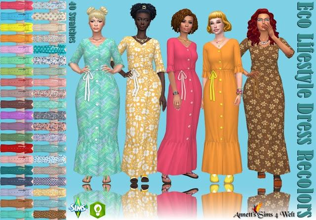 Eco Lifestyle Dress Recolors