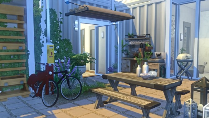 Eco Family Complex at Harrie image 2482 670x377 Sims 4 Updates