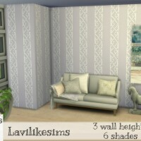 Lattice Stripe Wallpaper by lavilikesims