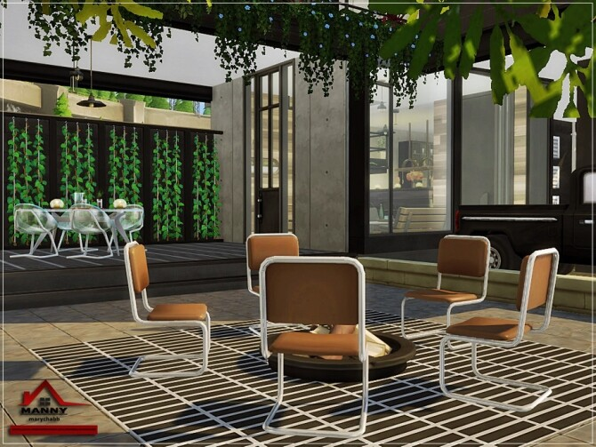 Sims 4 MANNY Home NO CC by marychabb at TSR