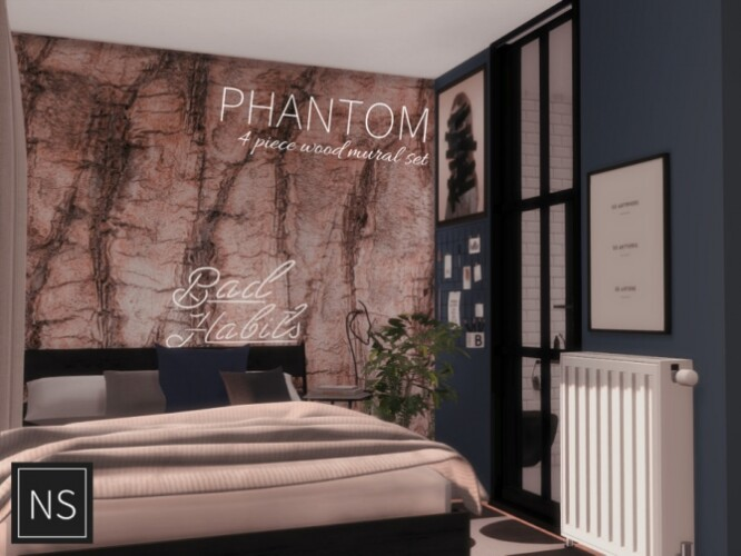 Phantom Wall Murals by networksims
