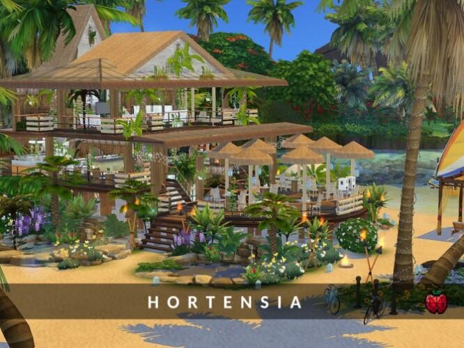 Hortensia bar by melapples