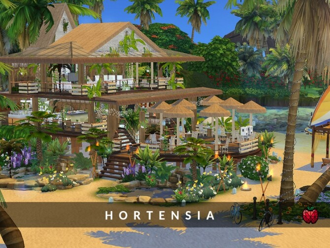 Hortensia bar by melapples at TSR image 271 670x503 Sims 4 Updates