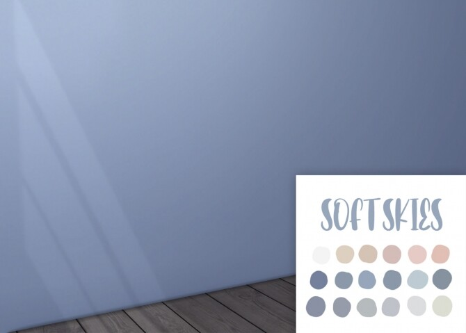 Sims 4 Soft skies wall paint at Celinaccsims