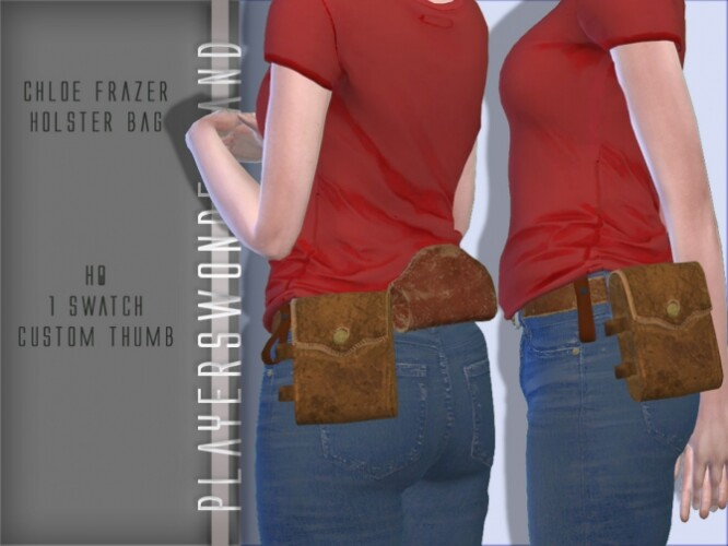 Chloe Frazer Holster Bag Acc by PlayersWonderland