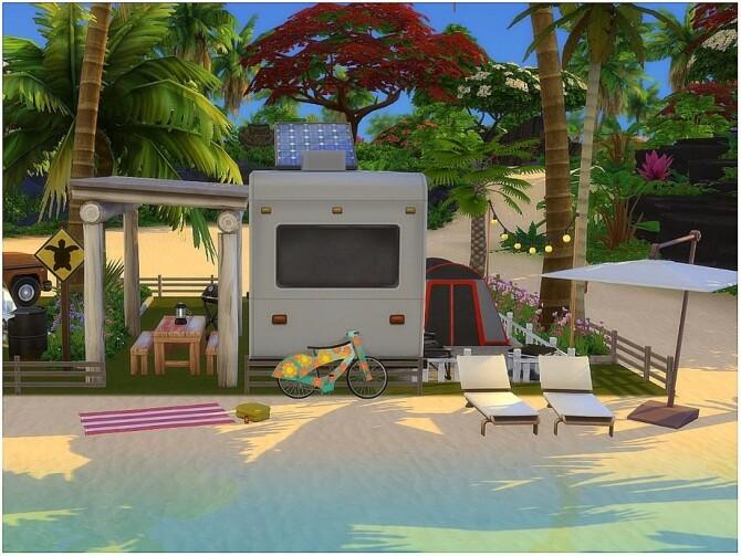 Sims 4 Open Sea Camping by lotsbymanal at TSR