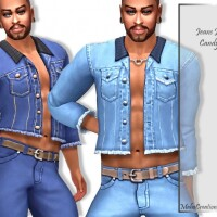 Jeans Jacket Candyally by MahoCreations