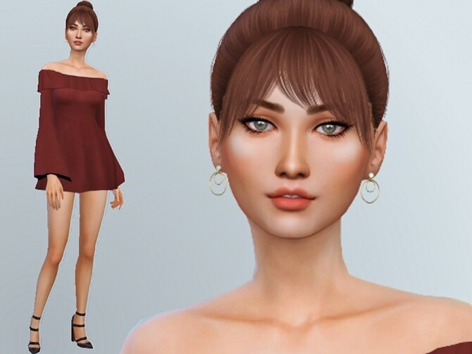 Sims 4 Celina Mclendon by Mini Simmer at TSR
