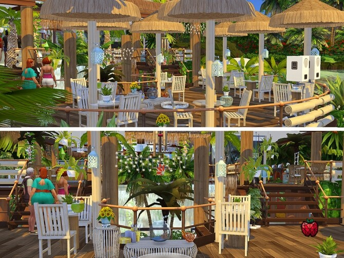 Hortensia bar by melapples at TSR image 281 670x503 Sims 4 Updates