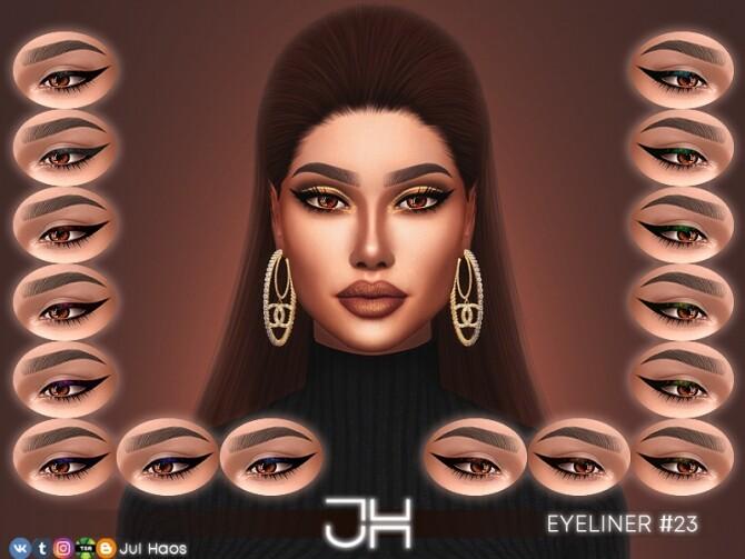 Sims 4 EYELINER #23 by JUL HAOS at TSR