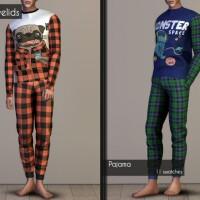 Matching pajamas recolors