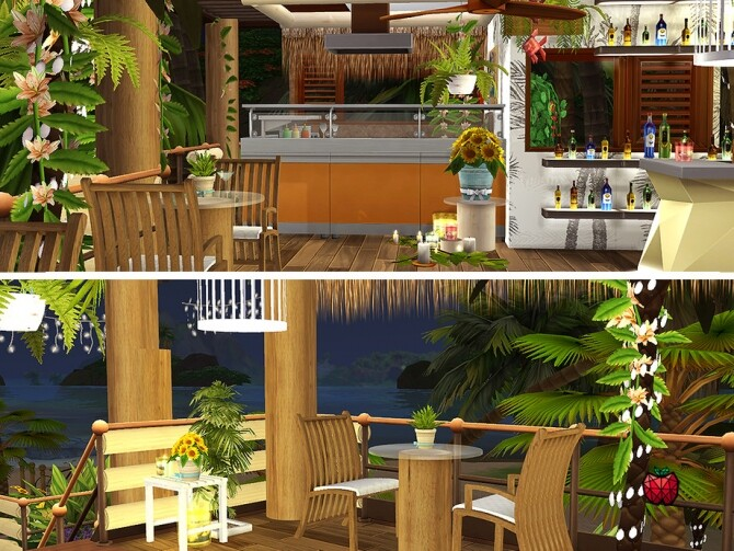 Hortensia bar by melapples at TSR image 291 670x503 Sims 4 Updates