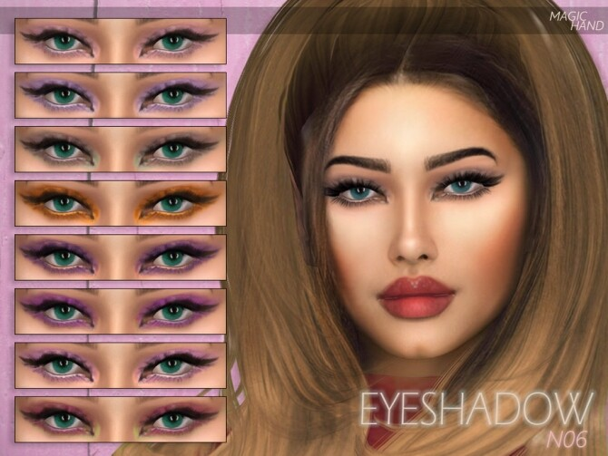 Eyeshadow N06 by MagicHand at TSR image 2924 670x503 Sims 4 Updates