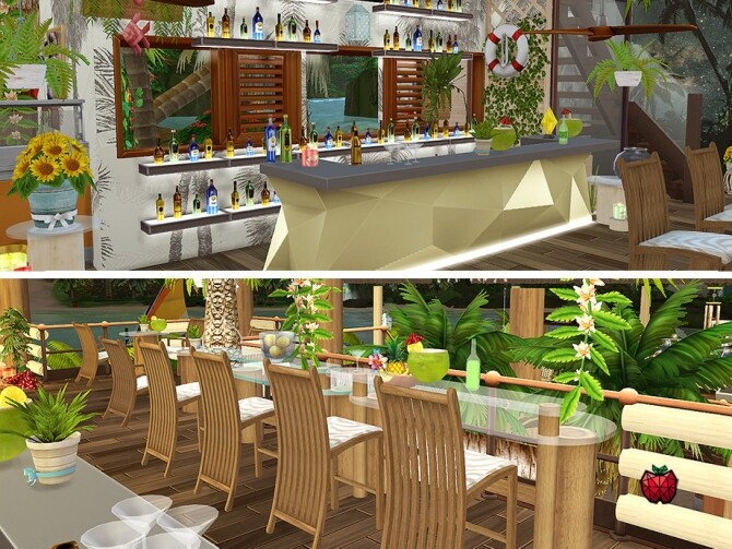 Hortensia bar by melapples at TSR image 301 670x503 Sims 4 Updates