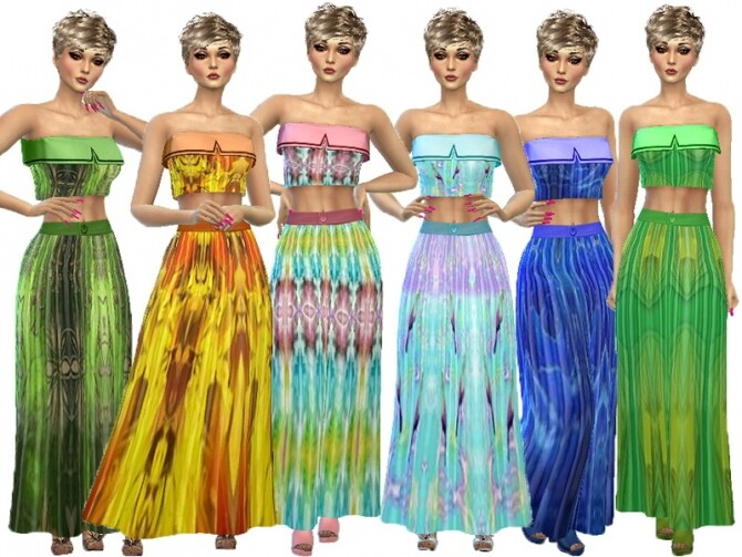 Sims 4 Colorful set 1 by TrudieOpp at TSR