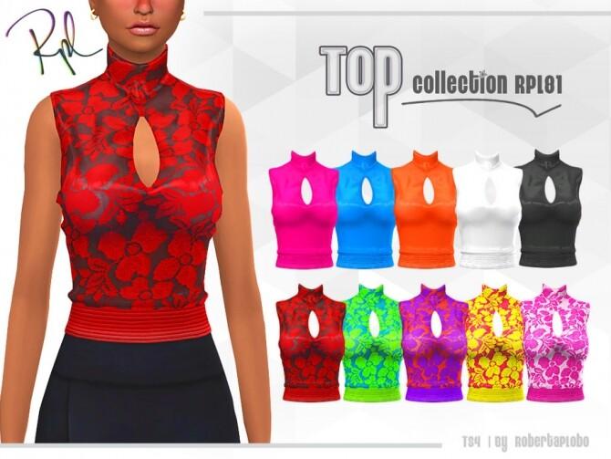 Sims 4 Top Collection RPL81 by RobertaPLobo at TSR