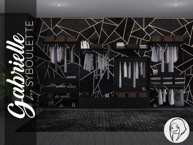 Gabrielle Dressing Closet by Syboubou at TSR image 3102 670x503 Sims 4 Updates
