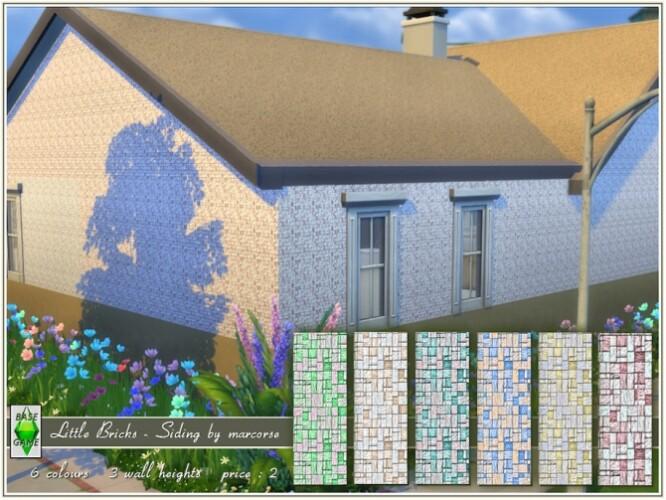 Little Bricks Siding by marcorse