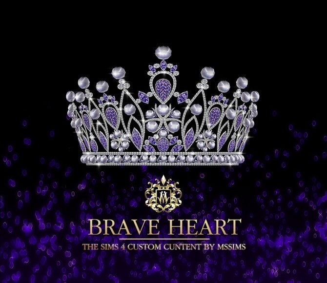 Sims 4 BRAVE HEART CROWN at MSSIMS