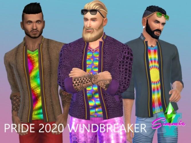 Pride 2020 Windbreaker by SimmieV