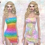 Candy Club Dress PF116 by Pinkfizzzzz