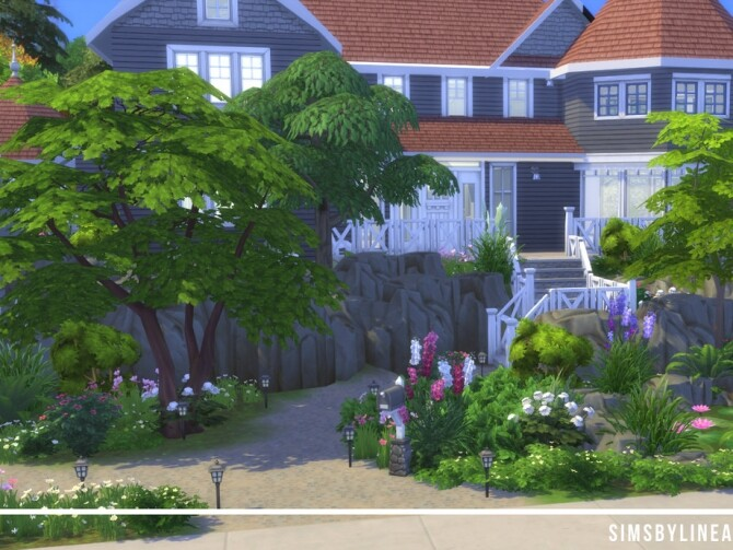 Sims 4 Family Cottage by SIMSBYLINEA at TSR