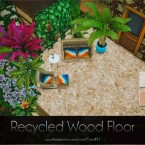 Recycled Wood Floor by Caroll91